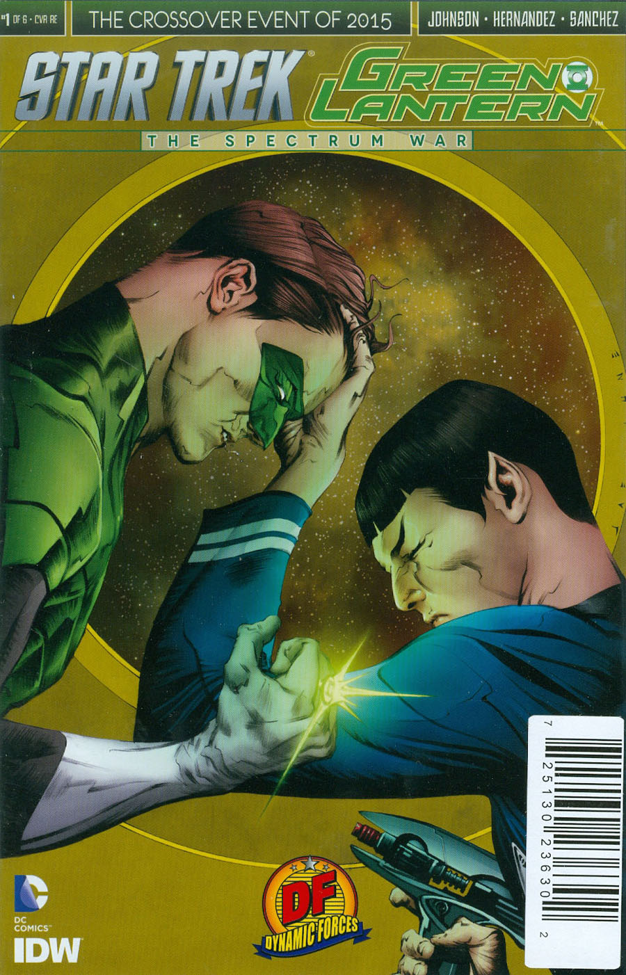 Star Trek Green Lantern #1 Cover F DF Exclusive Jae Lee Variant Cover