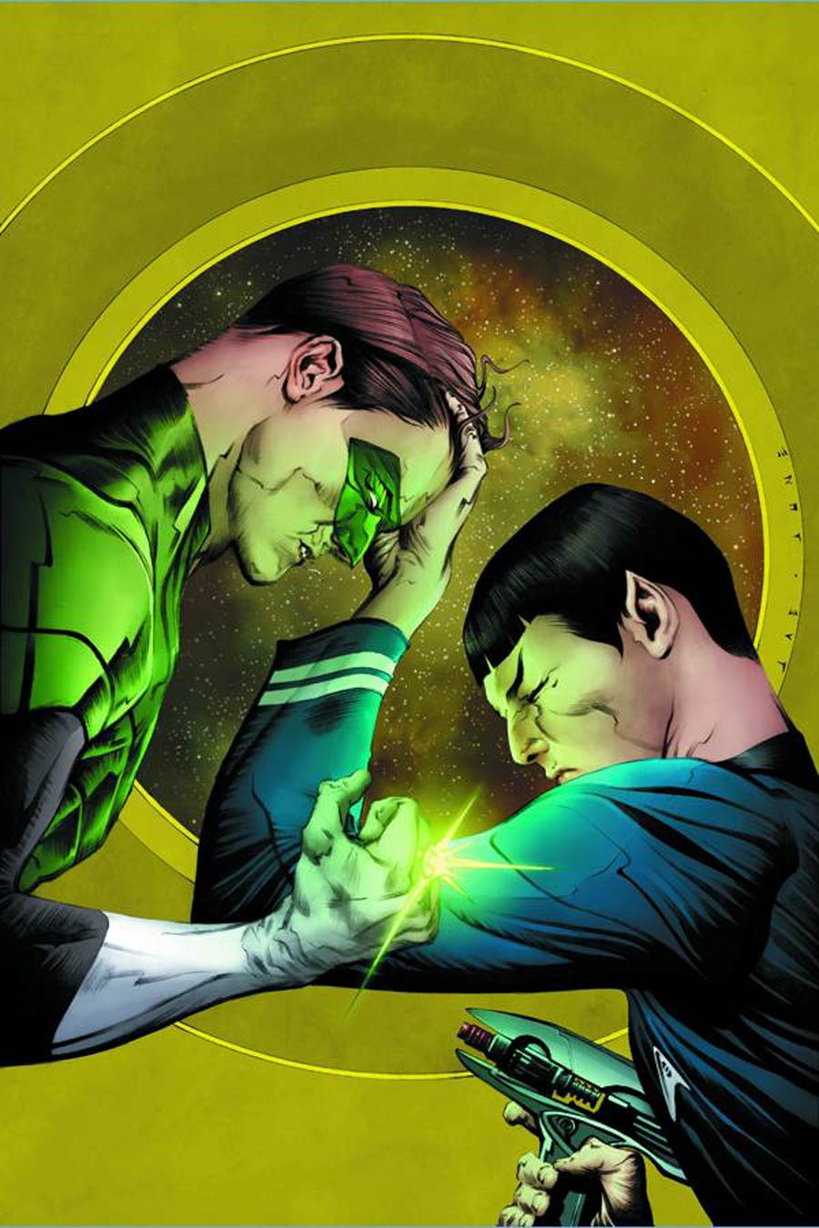 Star Trek Green Lantern #1 Cover H DF Exclusive Jae Lee Variant Cover Signed By Jae Lee