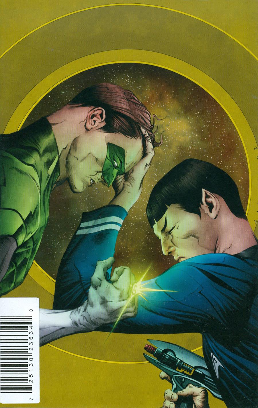 Star Trek Green Lantern #1 Cover J DF Exclusive Jae Lee Virgin Cover
