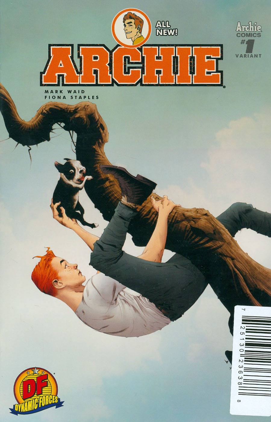 Archie Vol 2 #1 Cover C DF Exclusive Jae Lee Variant Cover