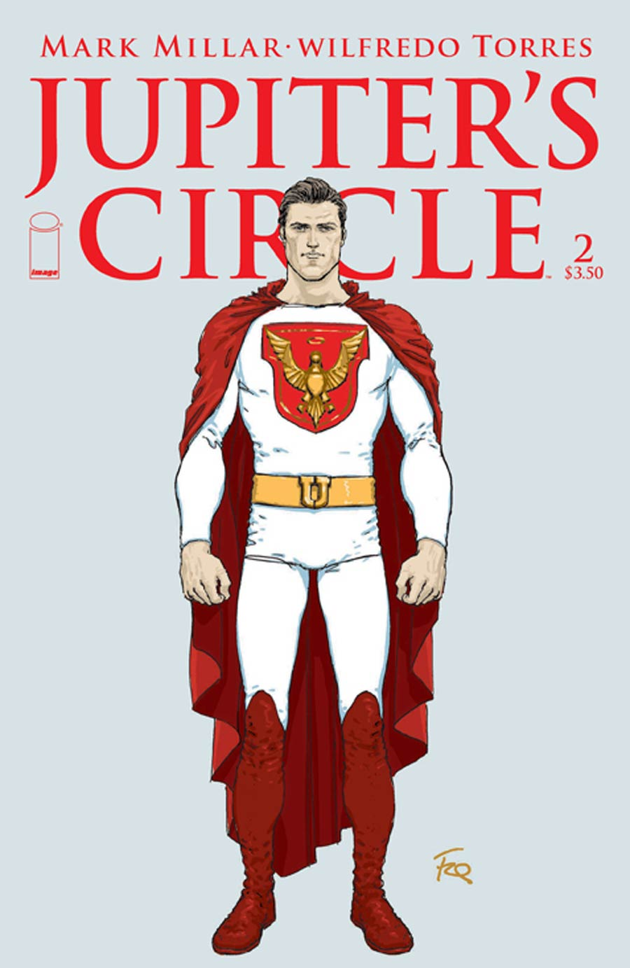 Jupiters Circle #2 Cover B Variant Frank Quitely Character Design Cover