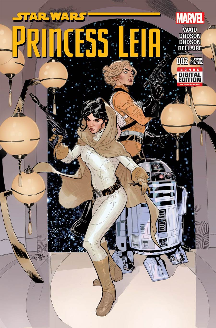 Princess Leia #2 Cover C 2nd Ptg Terry Dodson Variant Cover