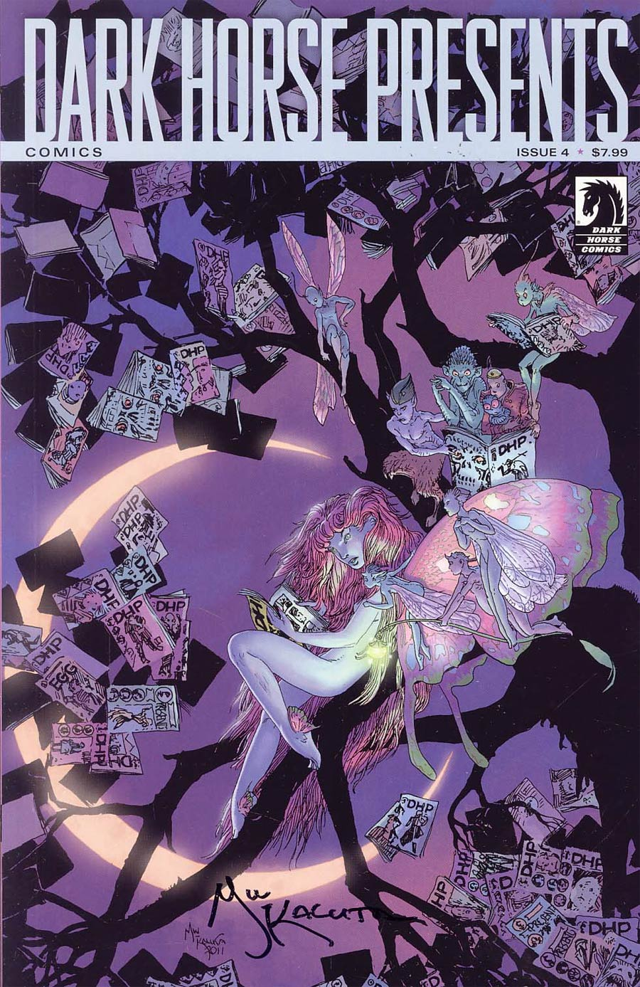 Dark Horse Presents Vol 2 #4 Ultra Variant Kaluta Signed Cover