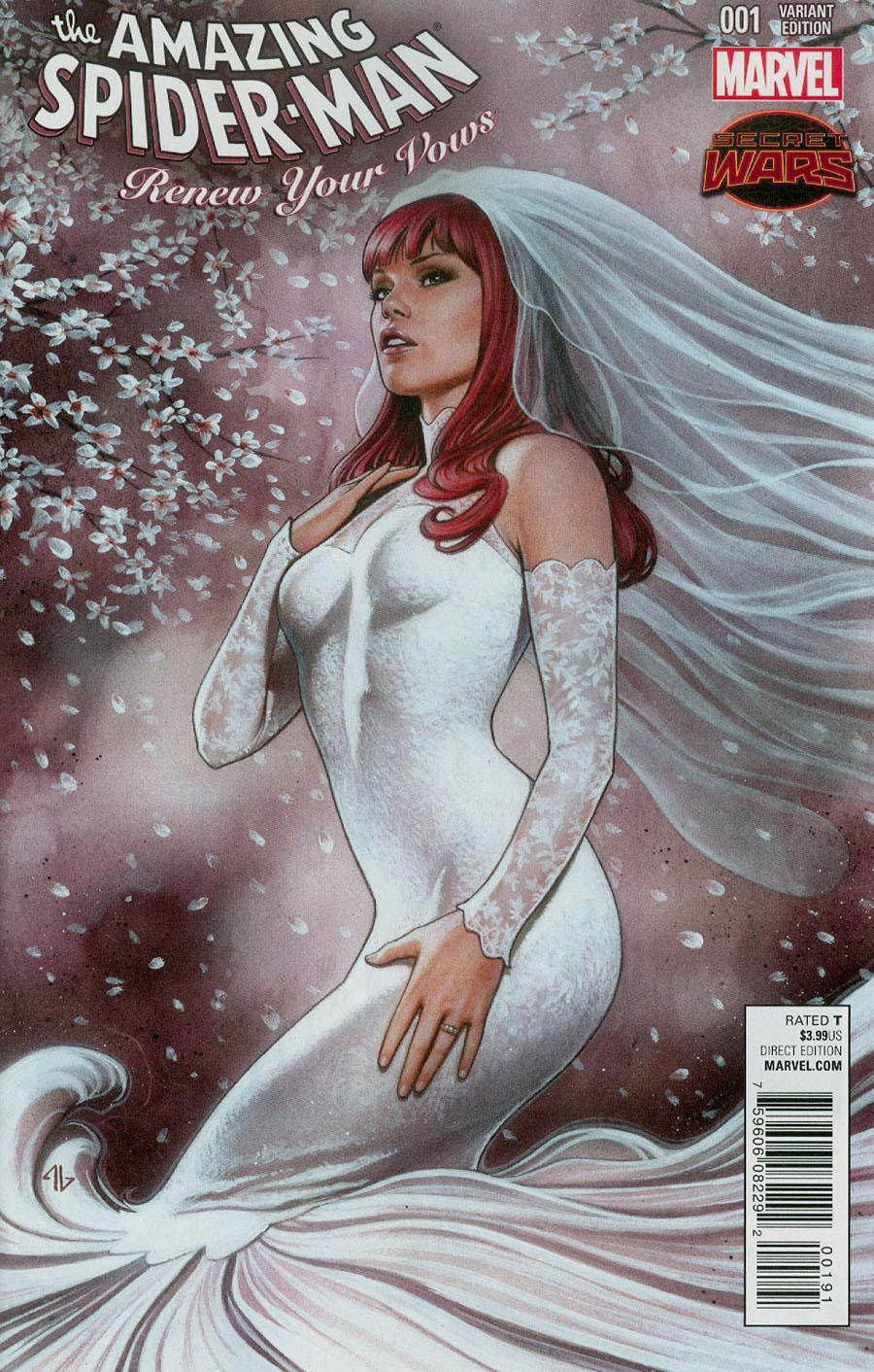 Amazing Spider-Man Renew Your Vows #1 Cover C Exclusive Legacy Edition Adi Granov Color Variant Cover (Secret Wars Warzones Tie-In)