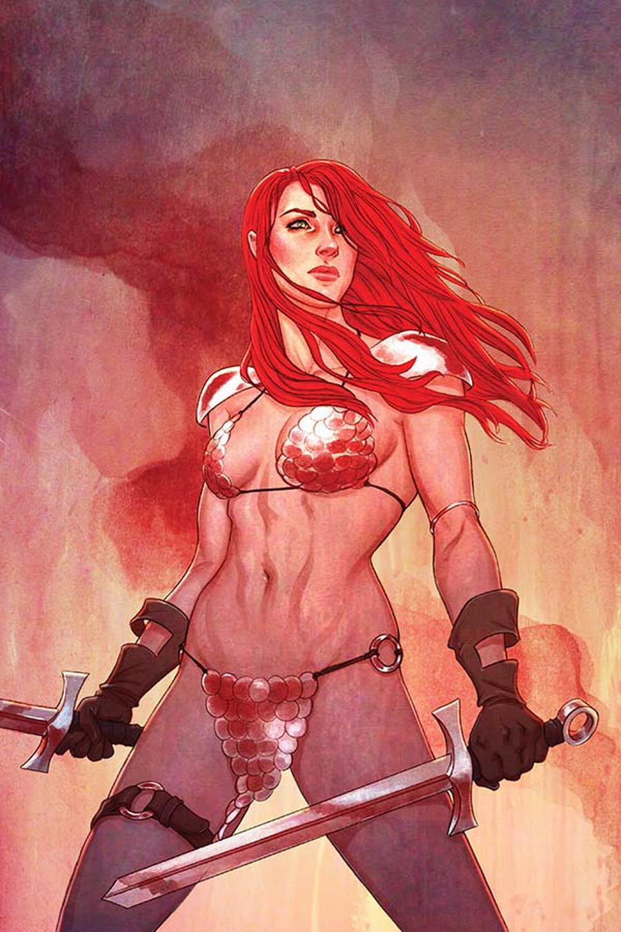 Red Sonja Vol 5 #16 Cover F High-End Jenny Frison Virgin Art Ultra-Limited Variant Cover (ONLY 50 COPIES IN EXISTENCE!)
