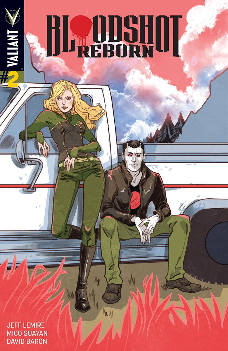 Bloodshot Reborn #2 Cover E Incentive Marguerite Sauvage Variant Cover