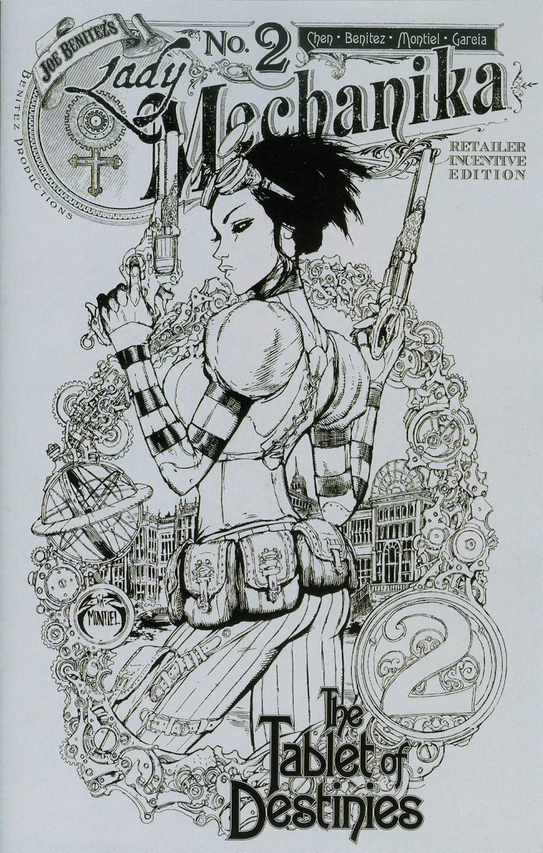 Lady Mechanika Tablet Of Destinies #2 Cover C Incentive Joe Benitez Variant Cover