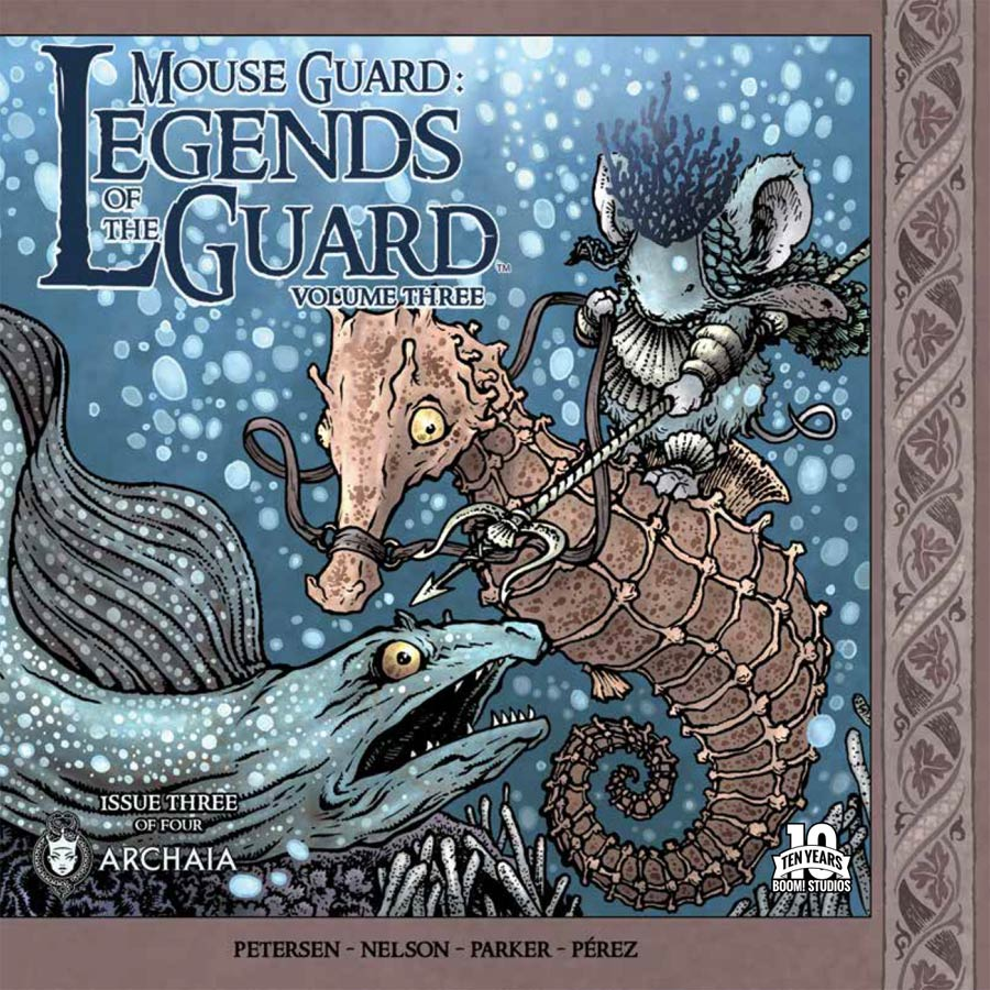 Mouse Guard Legends Of The Guard Vol 3 #3