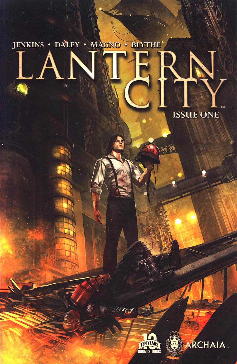 Lantern City #1 Cover A Regular Benjamin Carre Cover