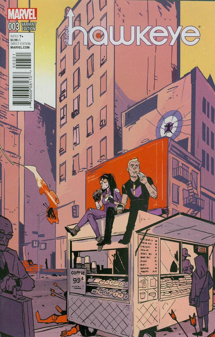 All-New Hawkeye #3 Cover C Incentive Annie Wu Variant Cover
