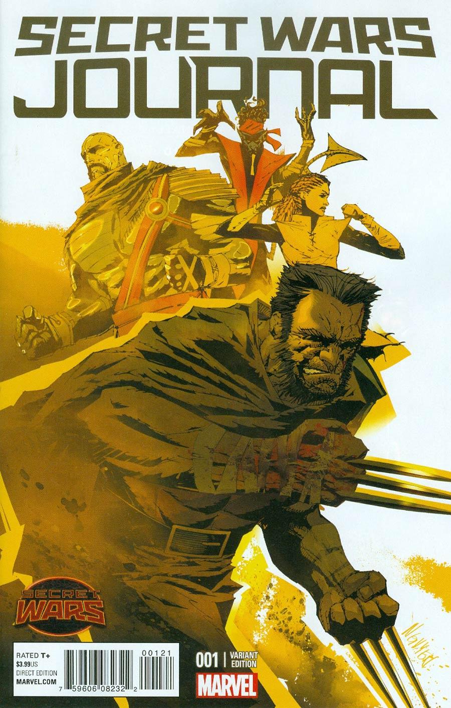 Secret Wars Journal #1 Cover C Incentive Variant Cover (Secret Wars Battleworld Tie-In)