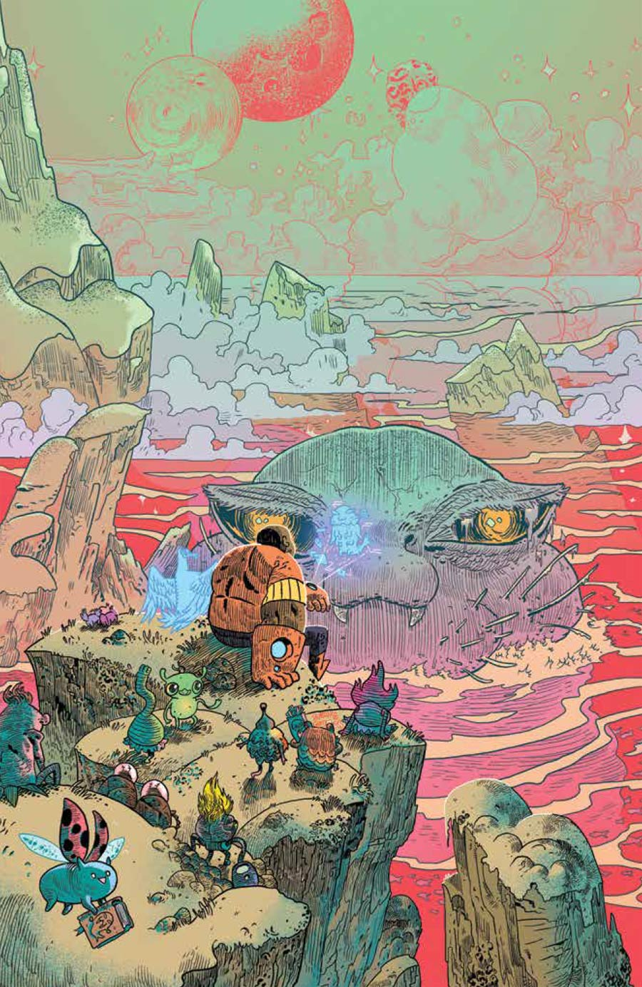 Bravest Warriors Tales From The Holo John #1 Cover B Incentive Artyom Trakhanov Virgin Variant Cover