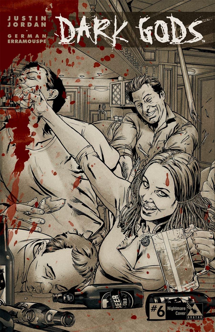 Dark Gods #6 Cover E Incentive Nightmare Cover