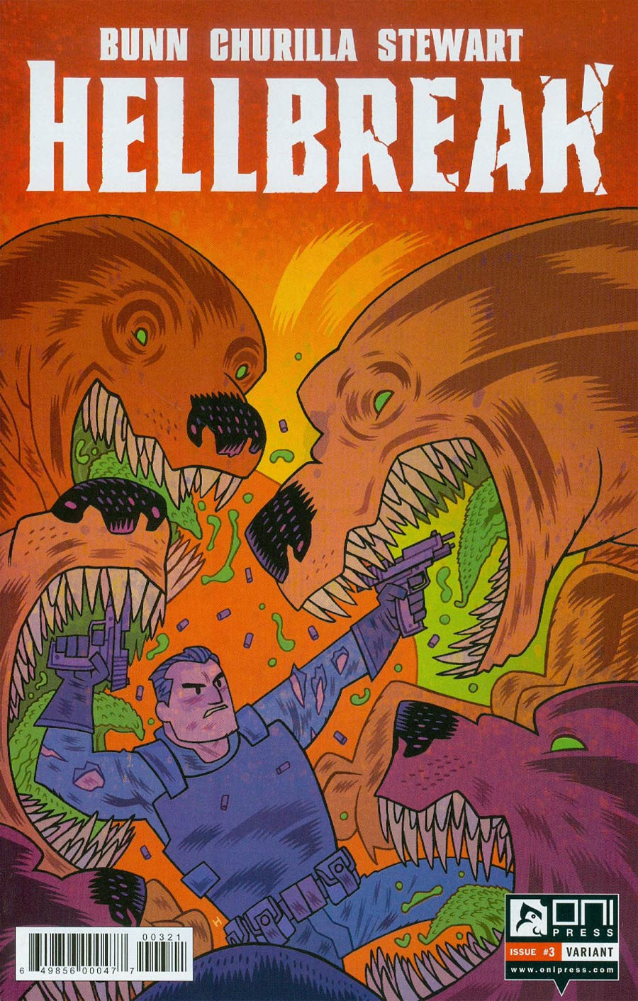 Hellbreak #3 Cover B Incentive Dan Hipp Variant Cover