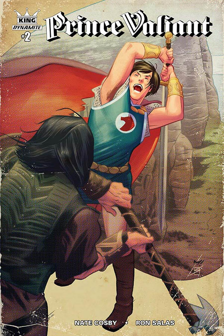 King Prince Valiant #2 Cover C Incentive Wilfredo Torres Color Variant Cover