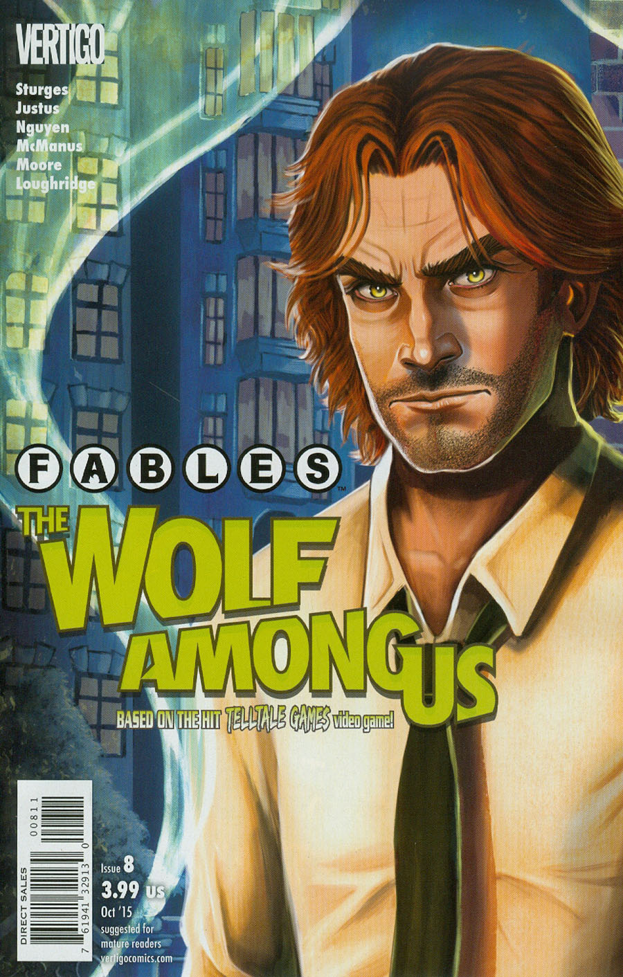 Fables The Wolf Among Us #8