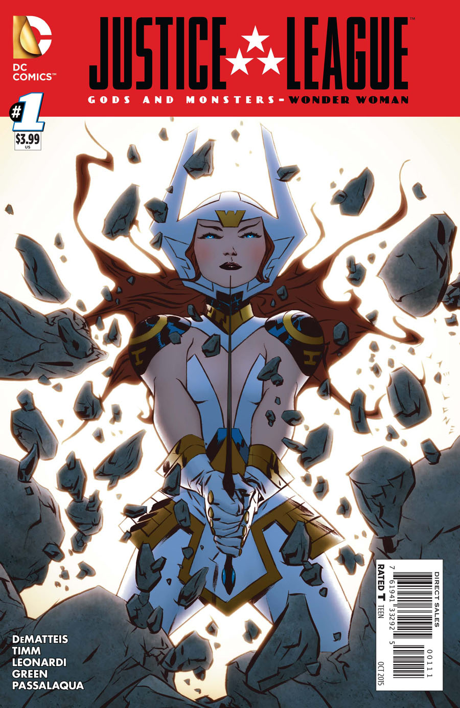 Justice League Gods And Monsters Wonder Woman #1 Cover A Regular Jae Lee Cover