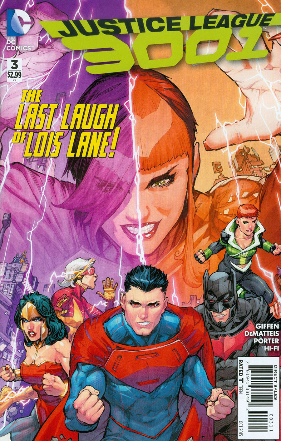 Justice League 3001 #3 Cover A Regular Howard Porter Cover