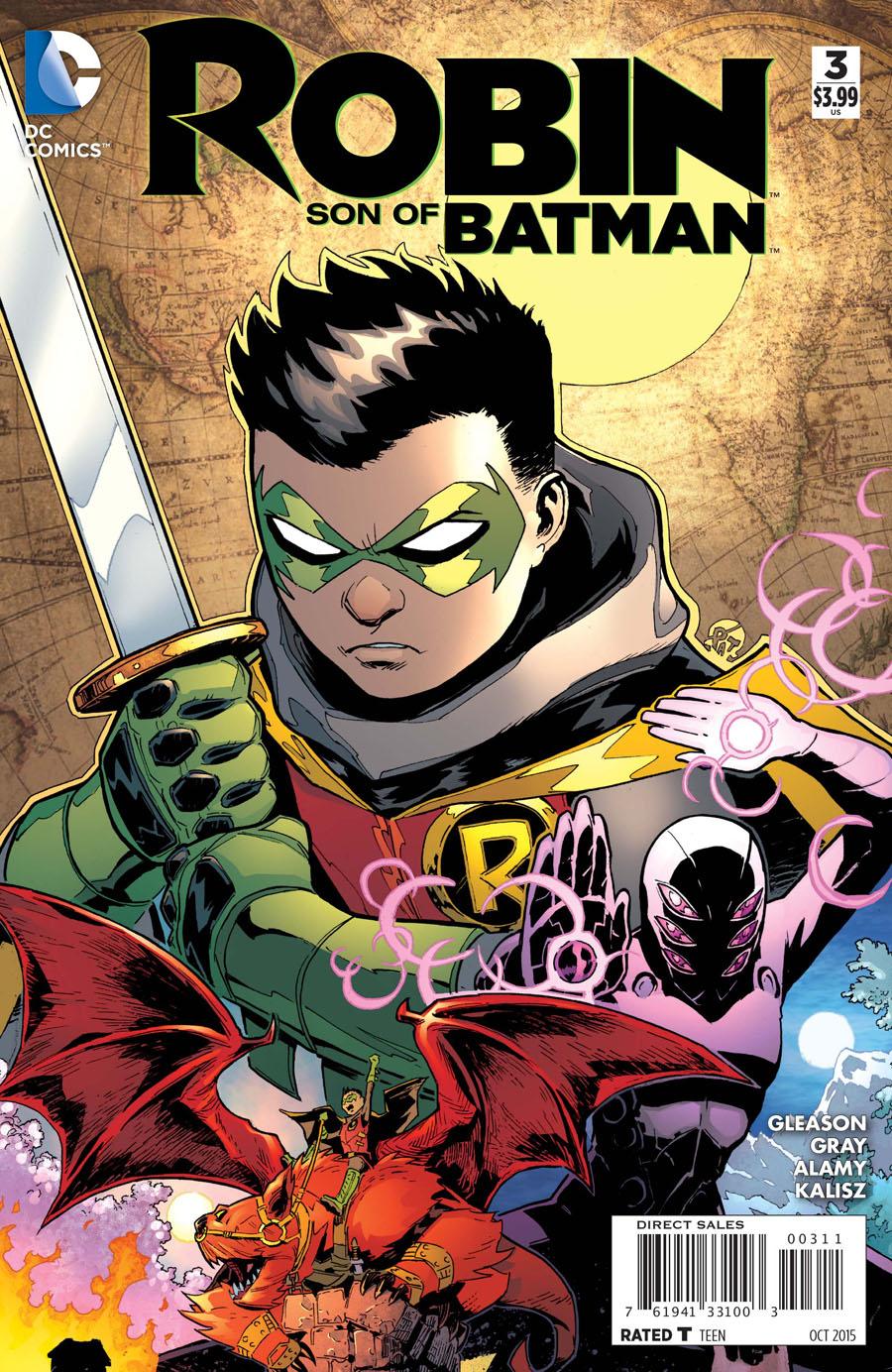 Robin Son Of Batman #3 Cover A Regular Patrick Gleason Cover