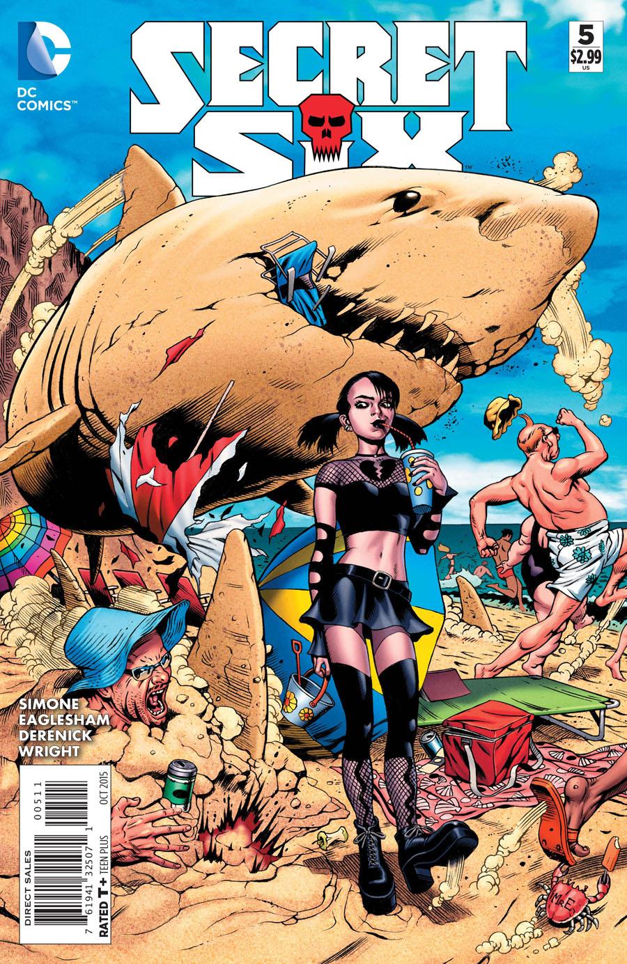 Secret Six Vol 4 #5 Cover A Regular Dale Eaglesham Cover