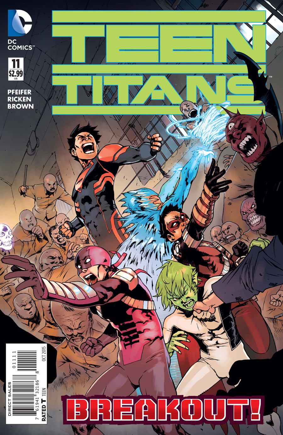 Teen Titans Vol 5 #11 Cover A Regular Bengal Cover