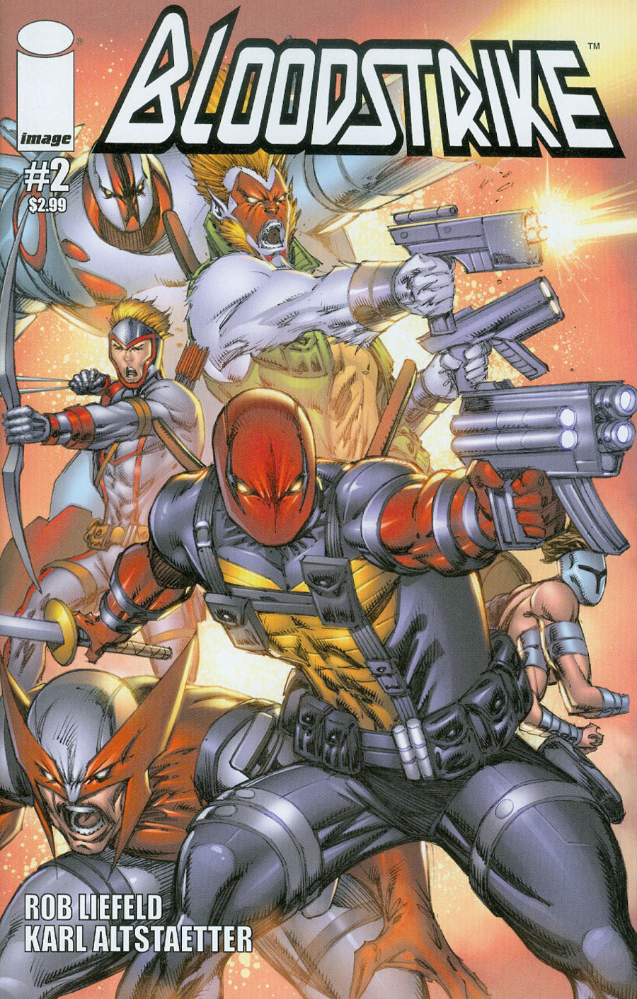 Bloodstrike Vol 2 #2 Cover A Regular Rob Liefeld Cover