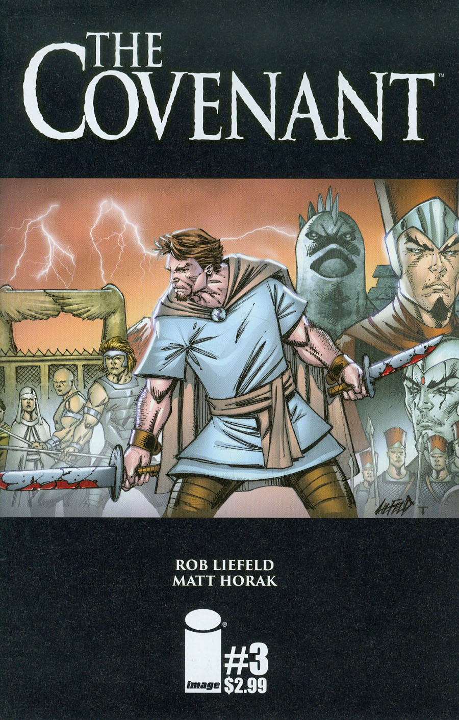 Covenant #3 Cover A Rob Liefeld