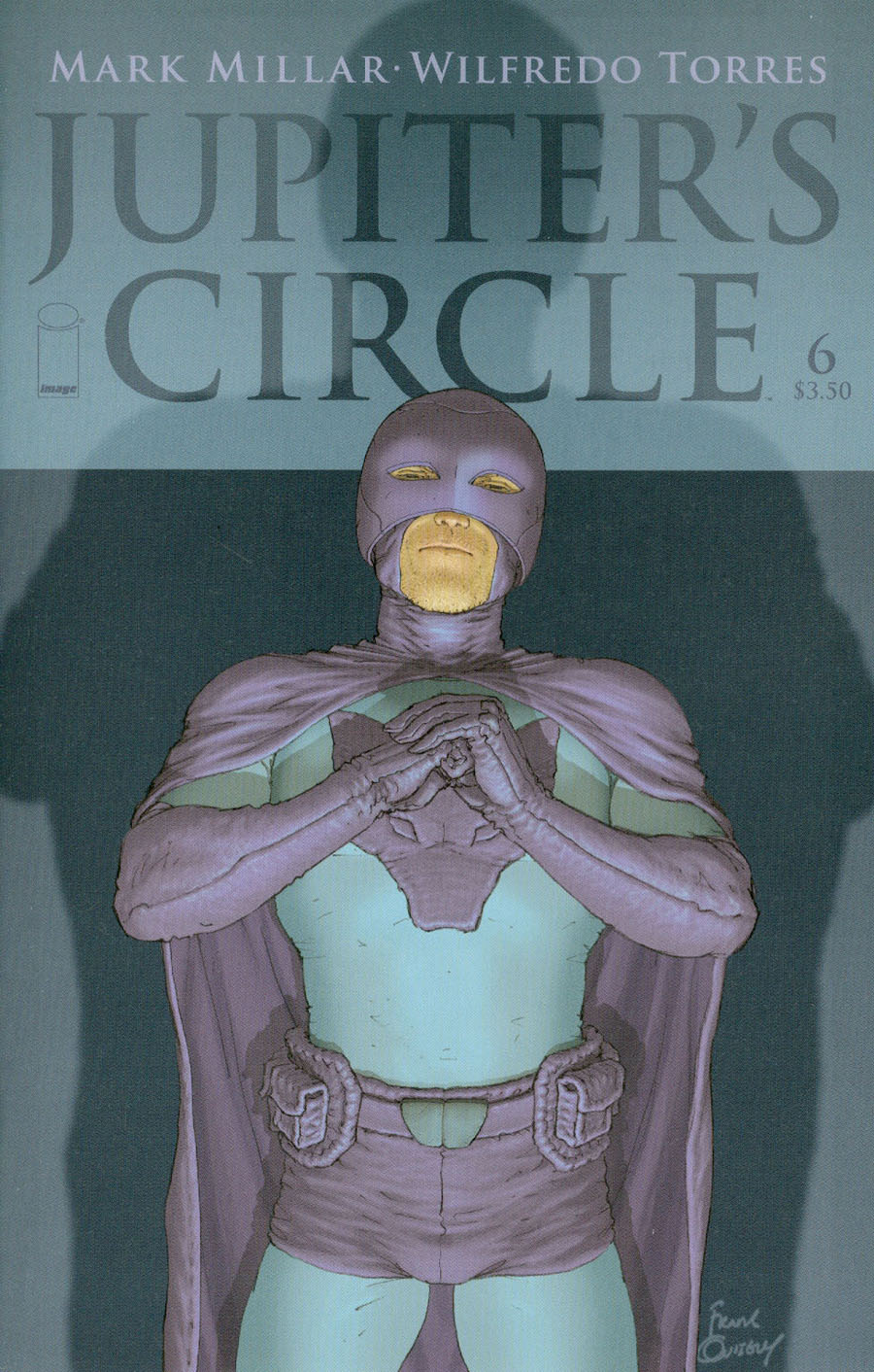 Jupiters Circle #6 Cover A Regular Frank Quitely Cover