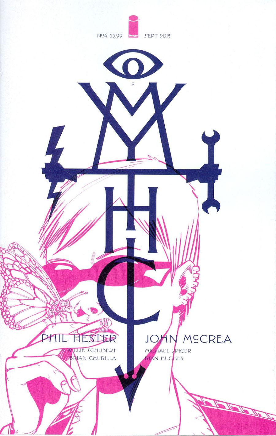 Mythic #4 Cover A Rian Hughes