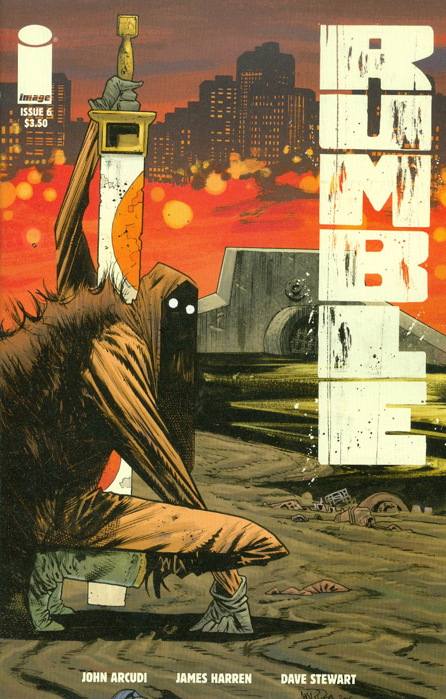 Rumble #6 Cover A James Harren