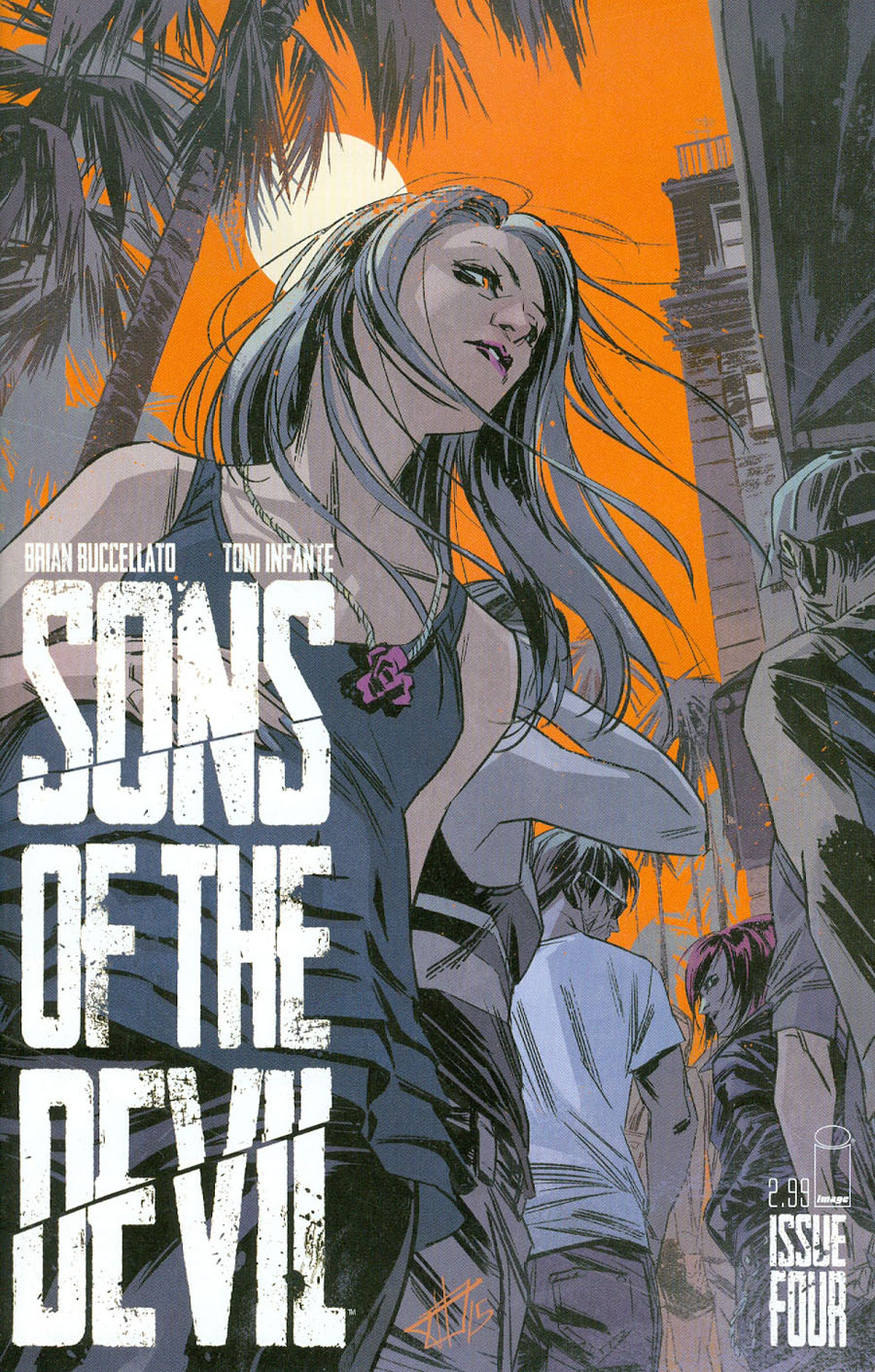 Sons Of The Devil #4 Cover A Toni Infante
