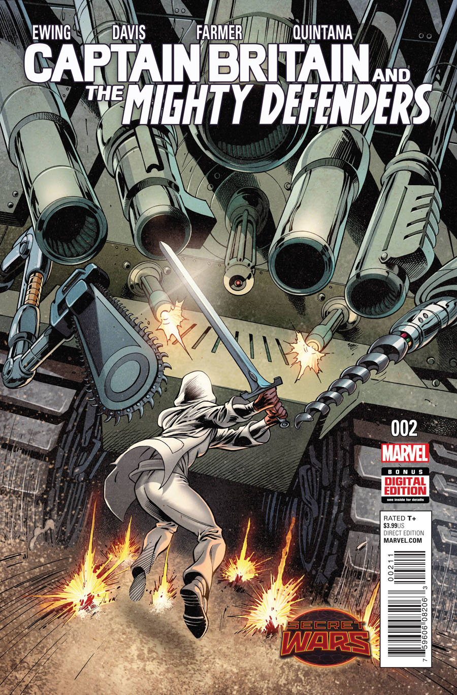 Captain Britain And The Mighty Defenders #2 (Secret Wars Warzones Tie-In)