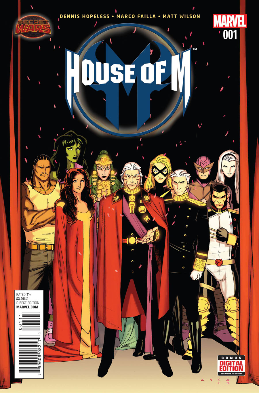 House Of M Vol 2 #1 Cover A Regular Kris Anka Cover (Secret Wars Warzones Tie-In)