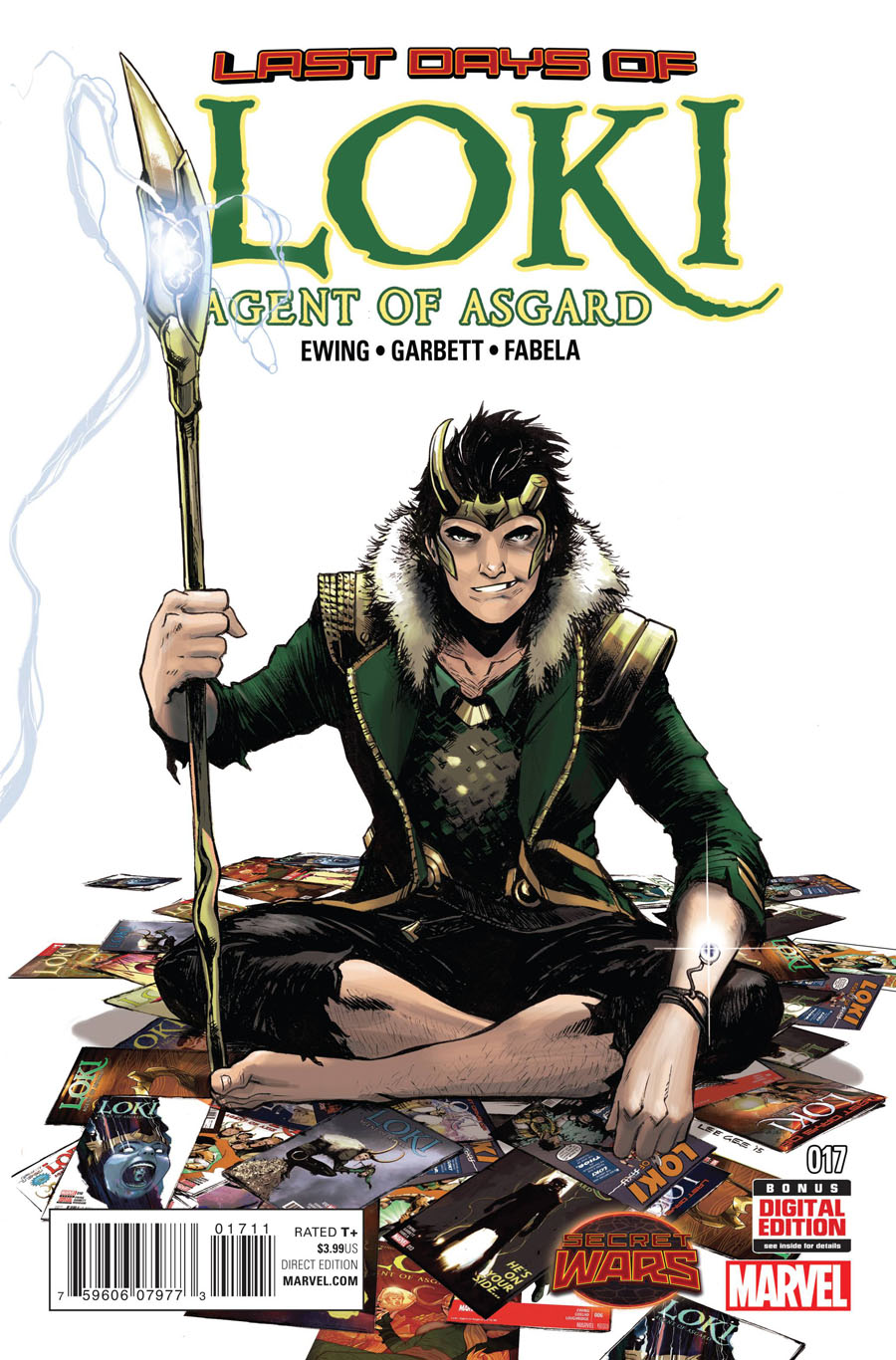 Loki Agent Of Asgard #17 (Secret Wars Last Days Tie-In)