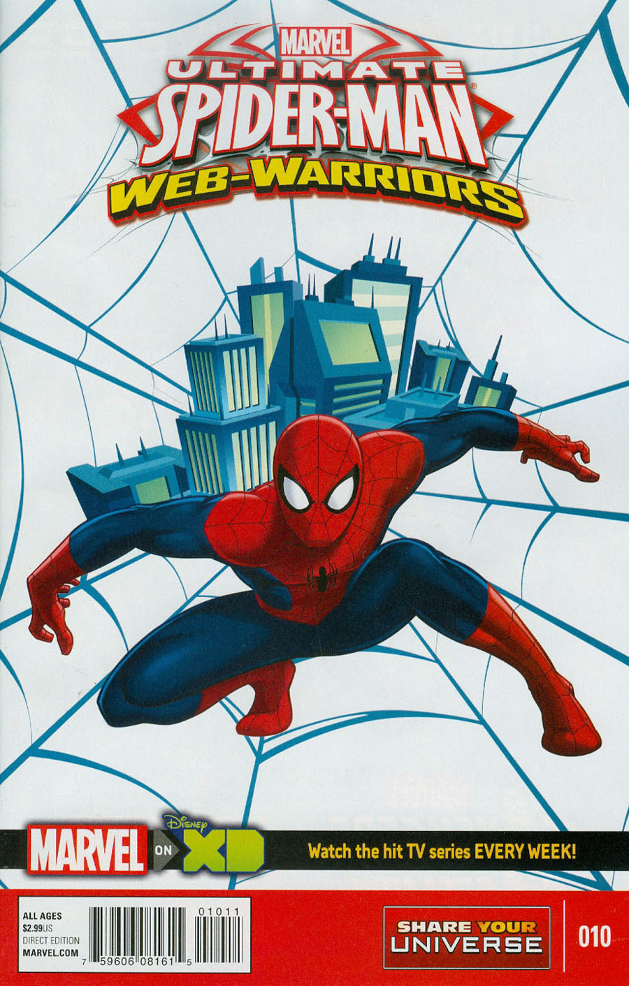 Marvel Universe Ultimate Spider-Man Web Warriors #10