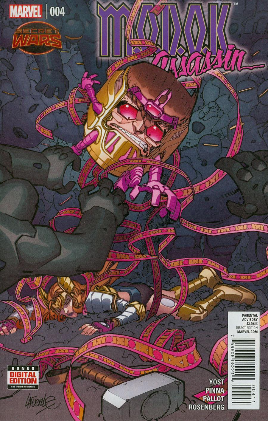 MODOK Assassin #4 (Secret Wars Warzones Tie-In)