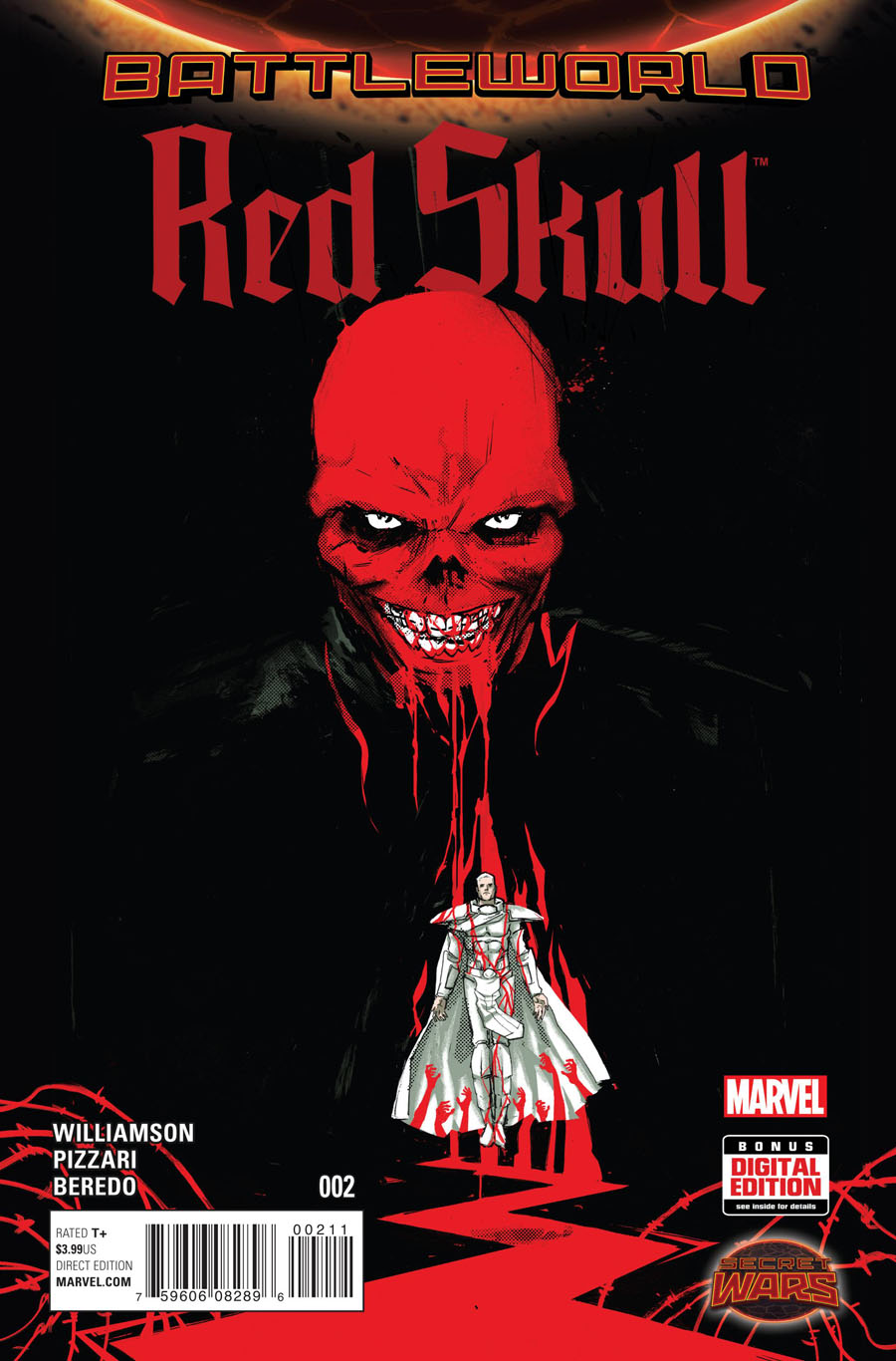 Red Skull Vol 2 #2 (Secret Wars Battleworld Tie-In)