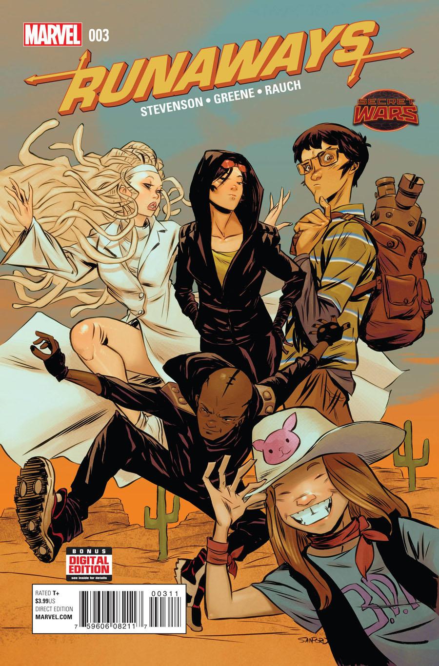 Runaways Vol 4 #3 (Secret Wars Battleworld Tie-In)