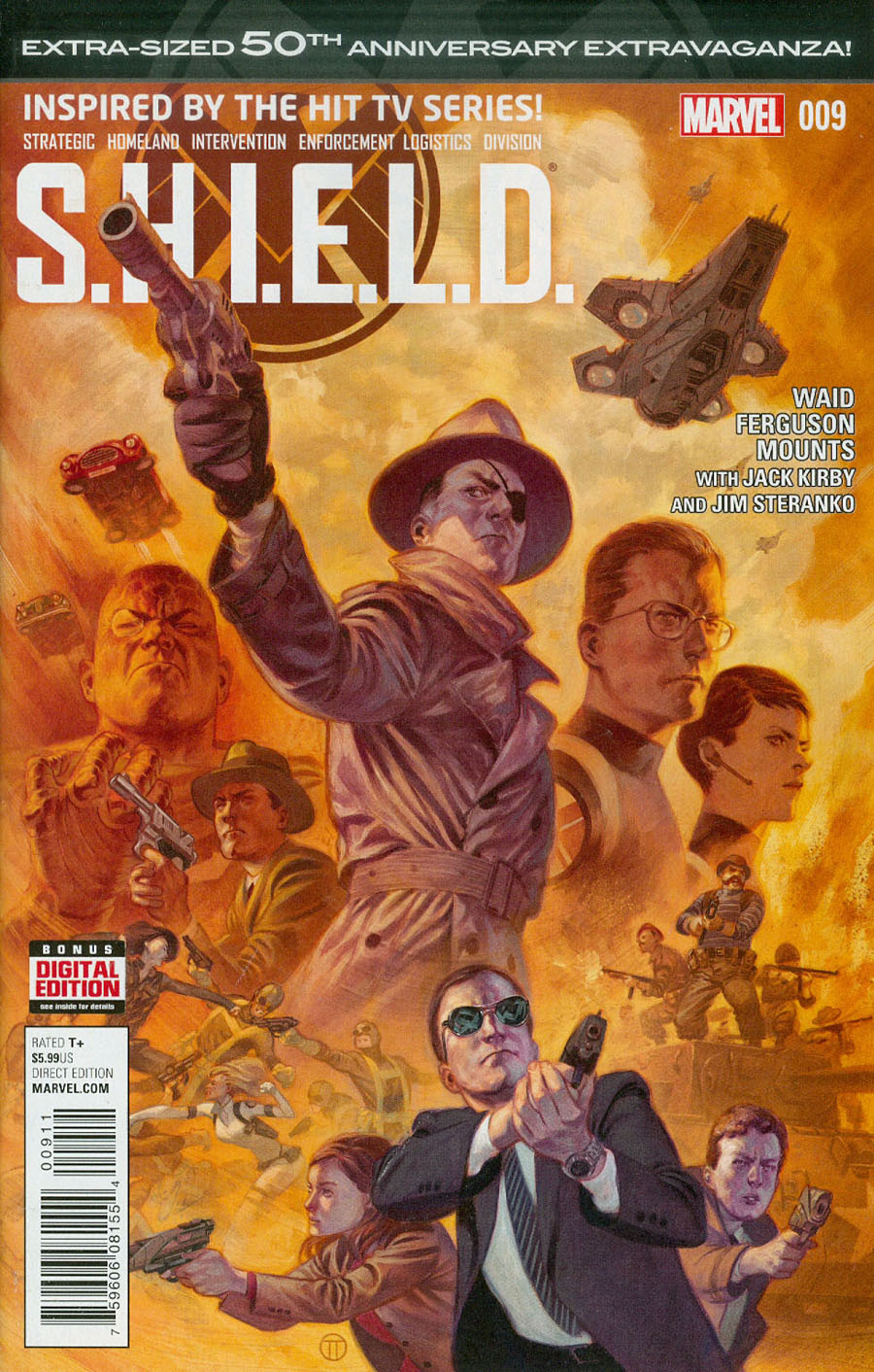 S.H.I.E.L.D. Vol 4 #9 Cover A Regular Julian Totino Tedesco Cover