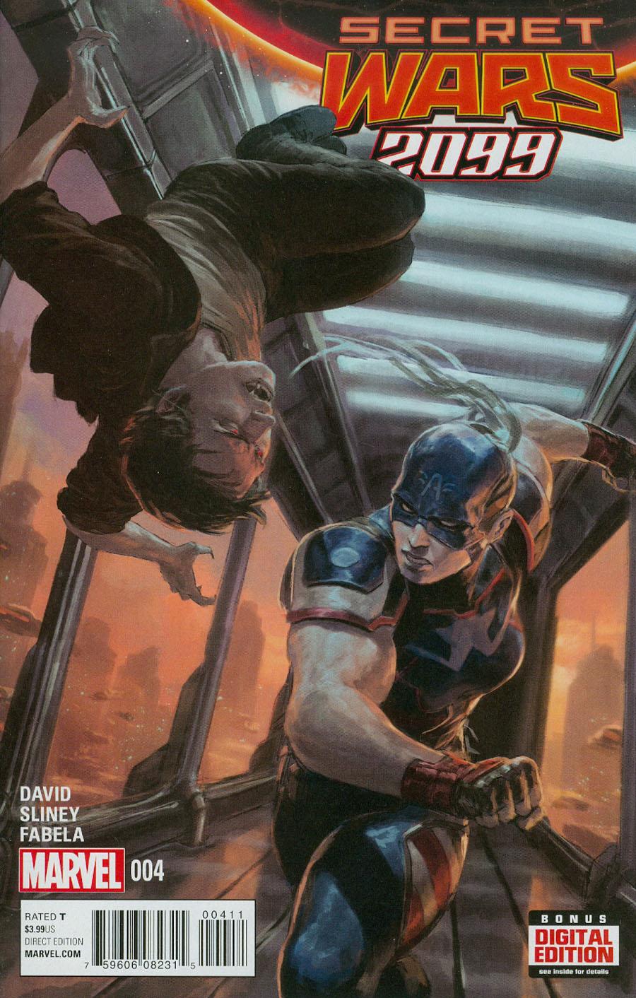 Secret Wars 2099 #4 (Secret Wars Warzones Tie-In)