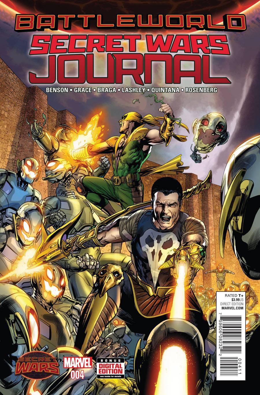 Secret Wars Journal #4 (Secret Wars Battleworld Tie-In)
