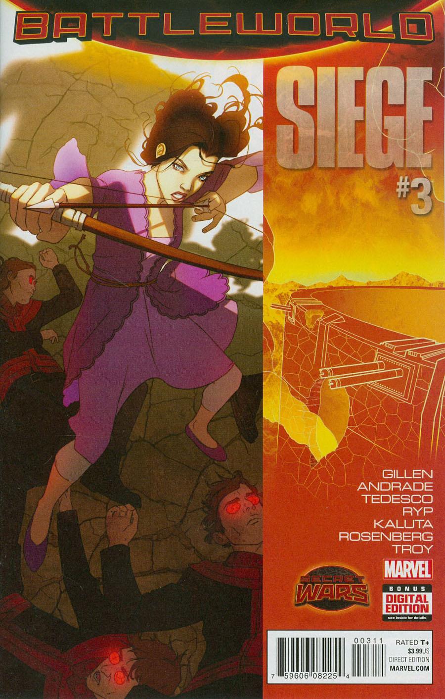 Siege (Marvel) Vol 2 #3 Cover A Regular W Scott Forbes Cover (Secret Wars Battleworld Tie-In)