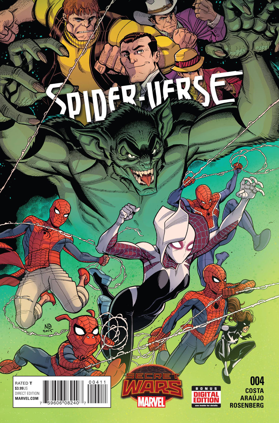 Spider-Verse Vol 2 #4 Cover A Regular Nick Bradshaw Cover (Secret Wars Warzones Tie-In)