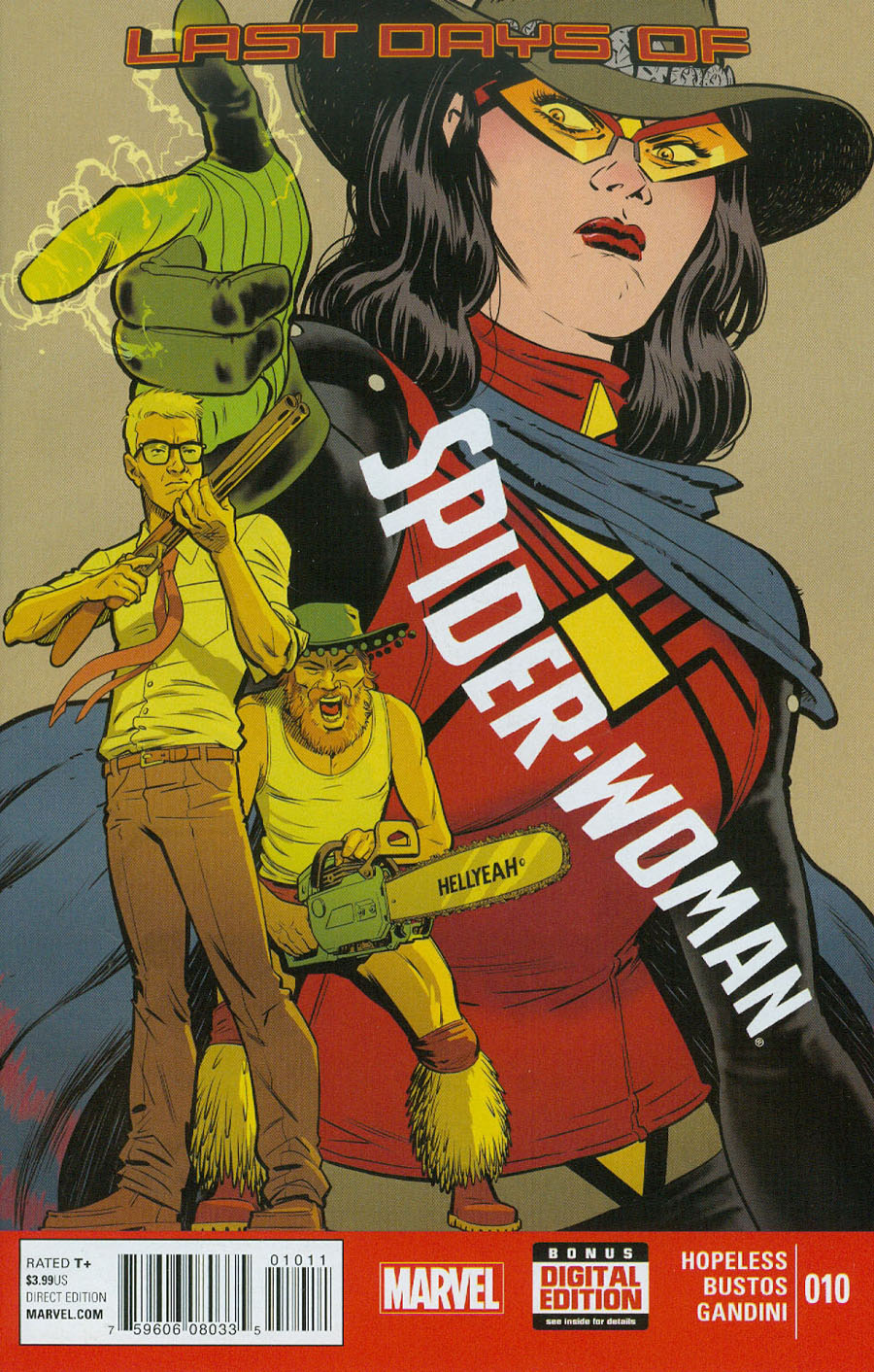 Spider-Woman Vol 5 #10 (Secret Wars Last Days Tie-In)