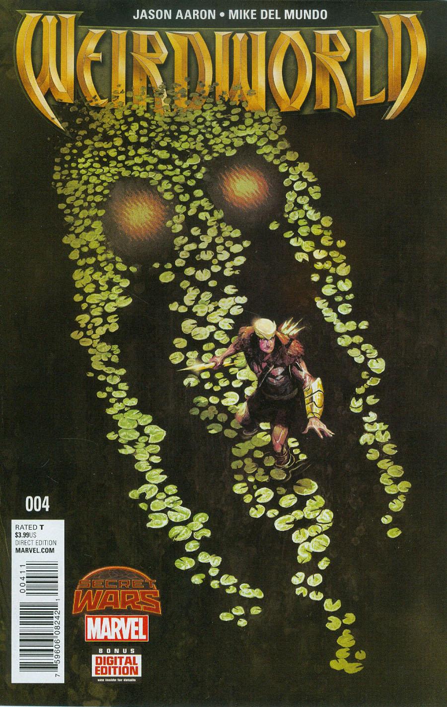 Weirdworld #4 Cover A Regular Michael Del Mundo Cover (Secret Wars Warzones Tie-In)