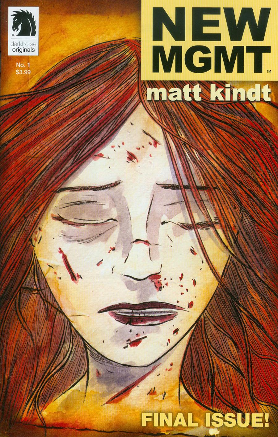 New MGMT #1 Cover A Regular Matt Kindt Cover