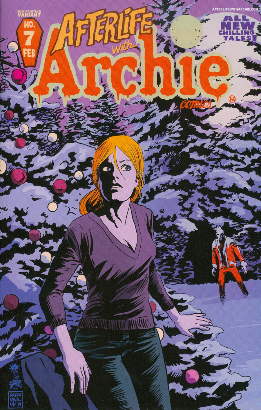 Afterlife With Archie #7 Cover C 2nd Ptg Francesco Francavilla Cover