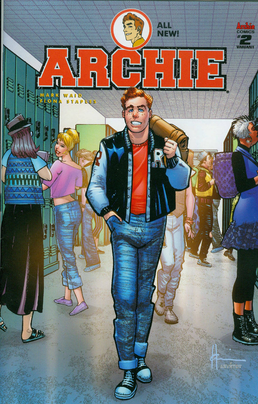 Archie Vol 2 #2 Cover B Variant Howard Chaykin Cover