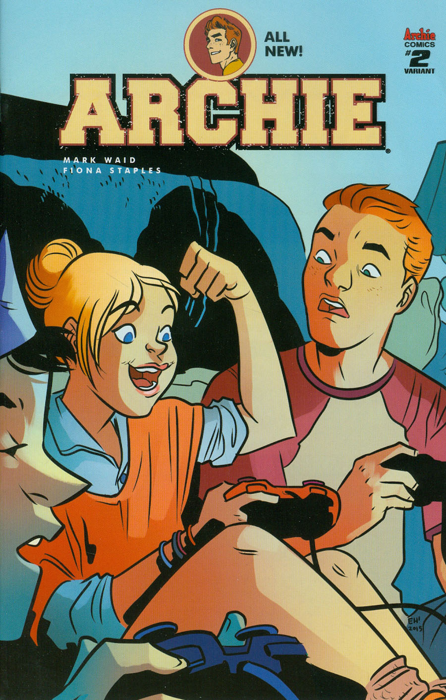 Archie Vol 2 #2 Cover C Variant Erica Henderson Cover