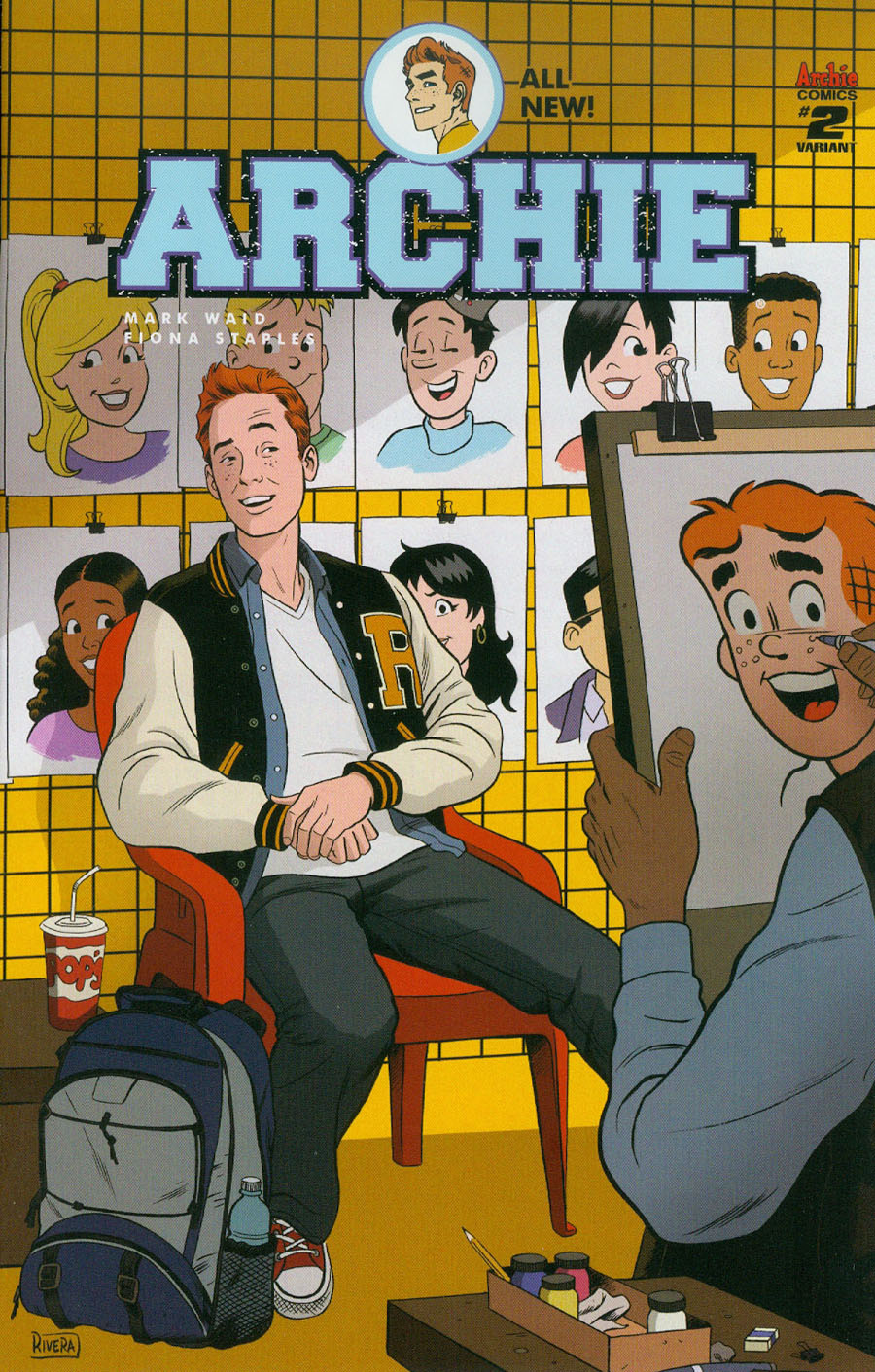 Archie Vol 2 #2 Cover E Variant Paolo Rivera Cover